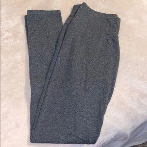 charcoal gray aerie leggings